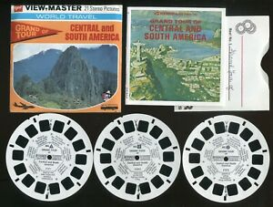 GAF View-Master Packet #B021 Style G4 Gand Tour of Central and South America
