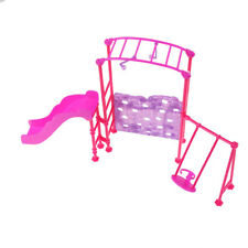1/6 Playground Accessories for Barbie Kelly Dolls House Miniature Furniture .*