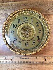 Nice Old Ingraham Clock Dial Pan And Bezel (Clock Dial Lot K1679)