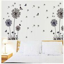 Wandtattoo Wohnzimmer Pusteblume Blüte Schmetterlinge Wandsticker Schlafzimmer