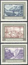 Austria 1972 Dam/Power/Energy/Water/Buildings/Electricity/Mountains 3v (n42155)