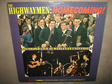 The HIGHWAYMEN Homecoming RARE SEALED New Vinyl LP 1964 UAL-3348 NoCutOut