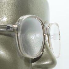 Large Lens Reading Glasses Acrylic Women's Classic Crystal Lt Gray Frame +1.00