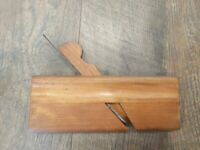 Antique Wood Moulding Plane P.W. Brand Blade Woodworking Hand Tools