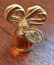 WHITE DIAMONDS Vintage perfume MINI SIZE RARE OLD STOCK 1/8 fl oz, 3.7ml