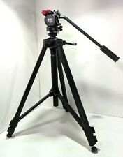 VELBON Stratos 480 Deluxe HD Video Tripod with Vel-flo™ 10 Fluid Panhead