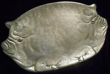 1982 Arthur Court Designs Double Pig Platter w/ Red Eyes - Item # 10-06