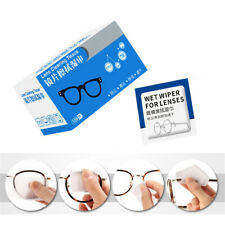 100pcs Lens Cleaning Wipes Eye Glass Phone Laptop Cleaner For Travel Portable