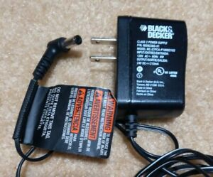 Original BLACK & DECKER Class 2 Power Supply 90592365-01 Model: ETPA-P180021U3