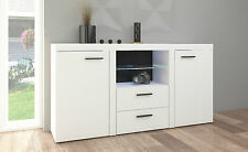 White Sideboard new  Cabinet Modern Living Room Furniture set, Cupboard TV UNIT