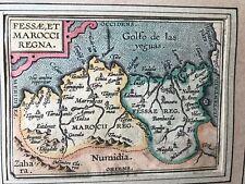 Ortelius: Map of Marocco (1588) - Printed by P. Galle (Miroir du Monde)