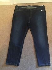 Marks and Spencer Plus Size Straight Leg L28 Jeans for Women