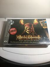 Disney Pirates of the Caribbean DVD Treasure Hunt COMPLETE GAME