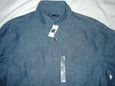 GAP Men's Denim Shirt - Blue -Size M - BNWT
