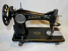 Vintage Antique 1900s Model 15J Singer Cast Iron Sewing Machine Head Only (1)