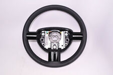 New EURO OEM VW Mk4 New Beetle Black Leather Lacquer 3 spoke Steering Wheel NOS