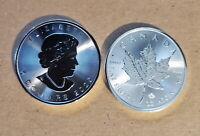 Random 2015, 2020 Canadian Maple Leaf (1 oz .9999 fine) $5 - BU - Coin