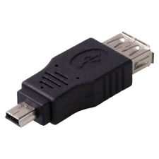 USB 2.0 A Female to Mini USB B 5 Pin Male Adapter Converter Changer