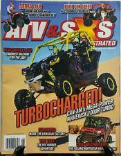 ATV & SXS Vol 13 Issue 5 Turbocharged Can Am Kawasaki Polaris FREE SHIPPING sb