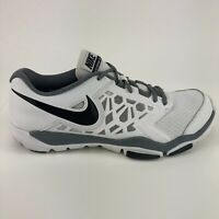 Nike Flex Supreme TR 4 Men's Size 12 White Running Walking Low Athletic Shoes