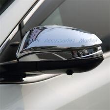 Chrome Rearview Mirror Cover Trim For Toyota Highlander RAV4 2014-2018