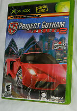 Classic Project Gotham Racing 2 (Microsoft Xbox, 2003) with Plastic Case
