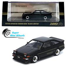 "INNO64 Toyota Sprinter Trueno AE86 ""Black Limited"" 1:64"