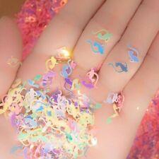 V's Nail Art Cat shape pastel mermaid shiny AB sequin Spangle Glitter Bag craft