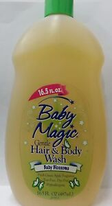 Baby Magic Gentle Hair & Body Wash, Baby Blossoms, 16.5 oz