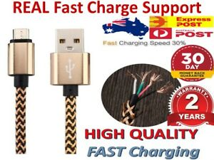 Micro USB Cable 1M 2M Fast Charging Charger Long Cord For Android Samsung Oppo