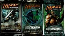 MAGIC THE GATHERING  CORE  2010 , 2011 , 2012    6 PACK LOT   MTG  OOP