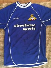 More details for doncaster rovers signed football shirt from 2005/6 with letter