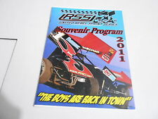 #MISC-2912 vintage car racing program - 2011 RSSI UNITED REBEL SPRINT SERIES