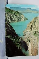 Yellowstone Park Buffalo Bill Dam Postcard Old Vintage Card View Standard Post