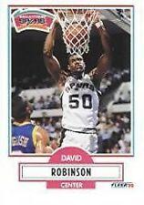 1990 Fleer David Robinson #172 Basketball Card