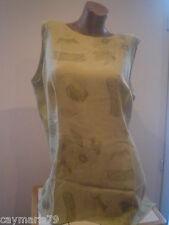 BONITA blusa mujer Talla 54 sin manga NUEVA paga SOLO 1 g.envio