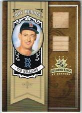 2005 Donruss, Diamond Kings, HOF Heroes 2-Piece Bat, #HH-54, Ted Williams, 7/10