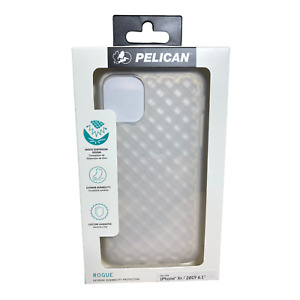iPhone 11 Case Clear - Pelican Rogue Series Waffle Style Case  for iPhone XR
