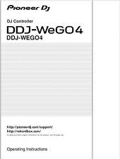 Pioneer DDJ-WeGO4 DJ Controller Owners Manual