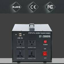 2000W Voltage Transformer Step Up&Down 110V to 220V/220V to 110V Converter Tool
