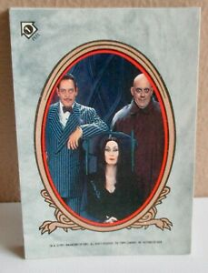 1991 - ADAMS FAMILY MOVIE:  Puzzle Set of...11 CARDS //  see pics!