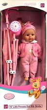 Doll With Stroller Toy Great Gift Idea !