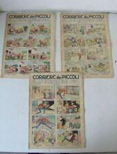 Strisce a fumetti di fumetti europei e franco-belgi corriere dei piccoli anno 1955