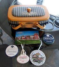 Longaberger SPECIAL HOMESTEAD MEMORIES  Basket Set w/ LID + BONUS ITEMS - NEW!