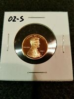 2002-S US PROOF LINCOLN CENT FROM US PROOF SET