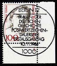 32) Berlin 100 Pf Frauen 825 FN 1 Formnummer Ecke 4 ESST Berlin 12 mit Gummi