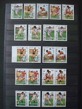 VIETNAM 4 SCANS 11 IMPERFORATED SETS USED (SMALL STOCK, 5 DIFFERENT SETS)