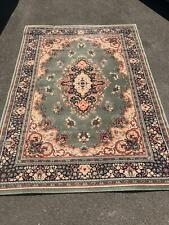 Large wool patterned rug