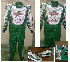 Tonykart Go Kart Race Suit CIK FIA Level 2 Approved Shoes with free gift Gloves