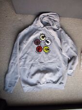 Big Bang Theory BBT Rock Paper Scissors Lizard Spock Hoodie Grey XL
